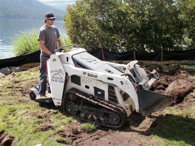 Access Here Lot Info Landscaping Machines