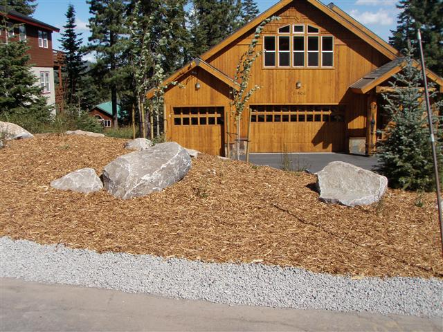 Landscaping photo gallery landscaping for Low maintenance front yard